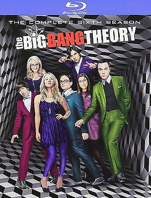 The Big Bang Theory   Complete 6Th Sixth Season 6 Six   Brand New Blu Ray Set