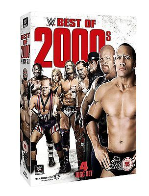 WWE (Wrestling) Best of 2000s BOX 4 DVD in Inglese NEW