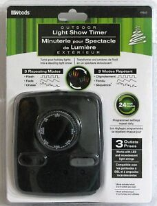 Outdoor timer with Light Show