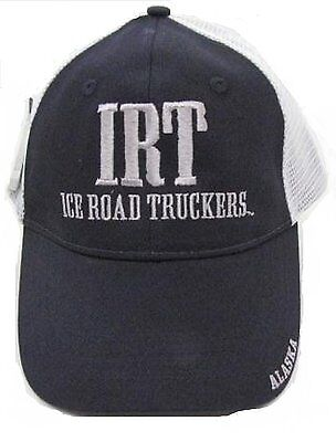 Alaska ICE ROAD TRUCKER Hat, Ice road Hat, Ice Road truckers