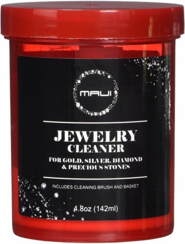 Jewelry Cleaner Solution Liquid  for silver, gold and diamond 4.8 oz