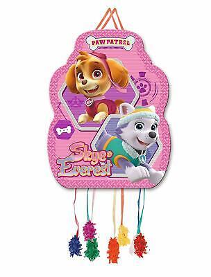 Nickelodeon Mädchen Paw Patrol Pull-String Pinata für Geburtstagsparty 33 X 46cm