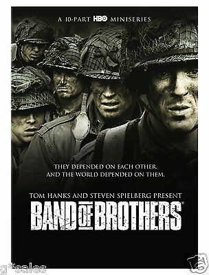 Band Of Brothers   Complete 10 Part Hbo Mini Series   Brand New 6 Disc Dvd Set