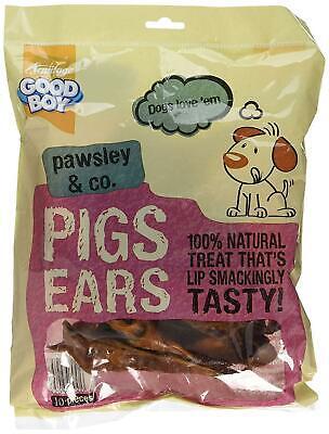 Good Boy Pigs Ears 10 Pack, Case Of 4 Packs