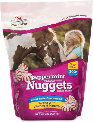 Manna Pro Peppermint Bite-Sized Nuggets 4 LBS