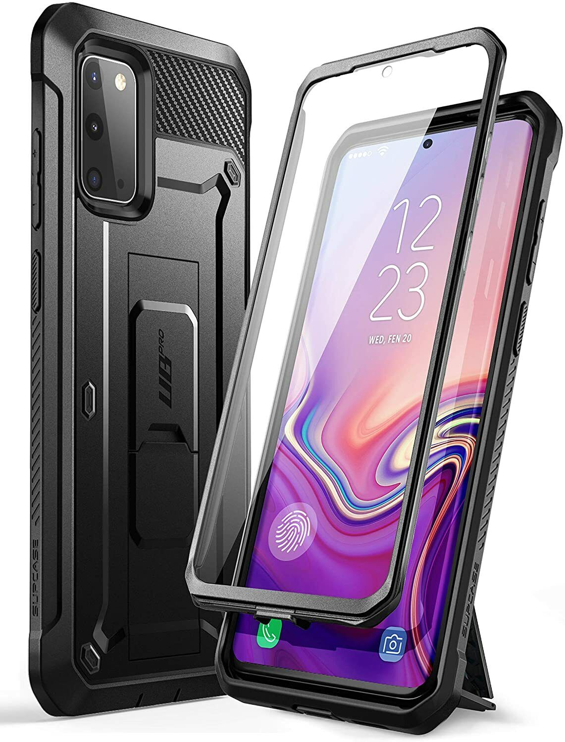 ubpro screen protector case rugged stand cover