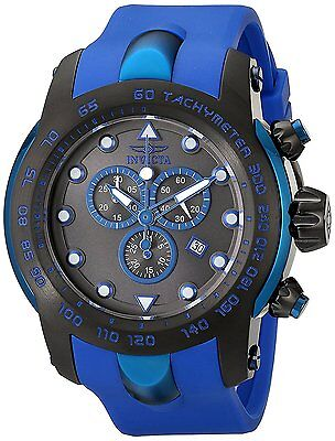 Invicta-Men-s-18028SYB-Pro-Diver-Black-SS-Watch-with-Blue-Silicone-Band