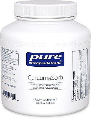 Pure Encapsulations Curcumasorb With Meriva Bioavailable ...
