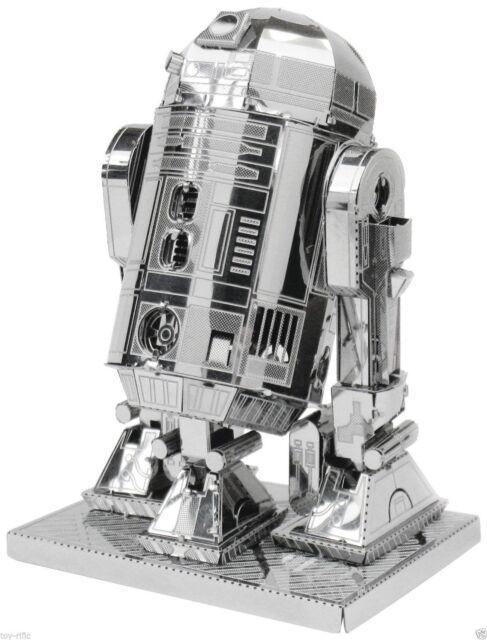 METAL EARTH STAR WARS 3D METAL MODEL KIT OF R2 D2 - BRAND NEW & SEALED!!