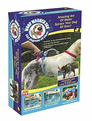 Woof Washer Pet Washer Clean Dog Washing Station Bath for Dog- 360 As Seen On TV