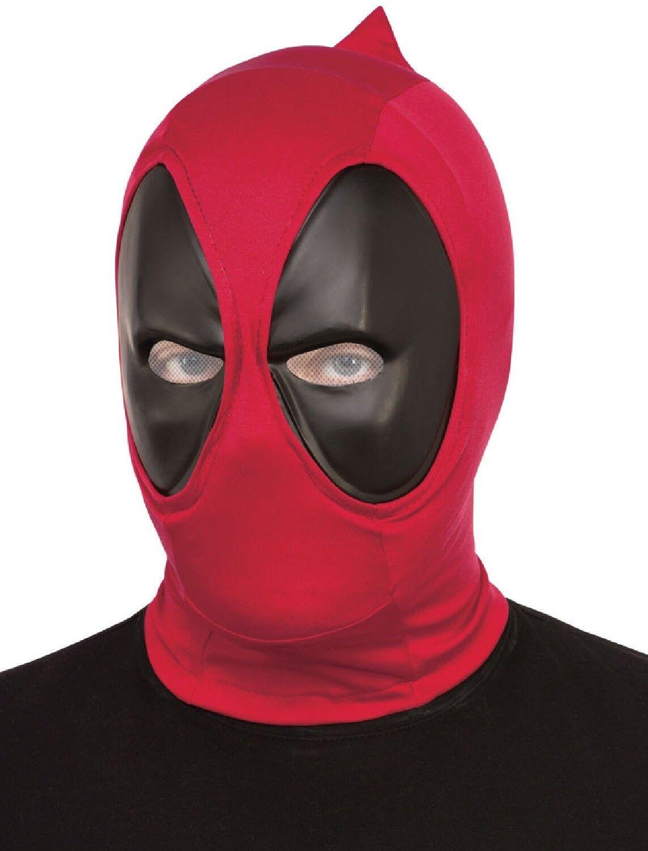 Adulto Deluxe Deadpool Marvel Superhero Halloween Fancy Dress Costume  costume maschera 1918b2c17f02