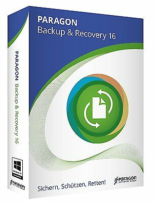 Paragon Backup & Recovery 16 CD/DVD Version EAN 4023126118950 + Privacy Suite 17