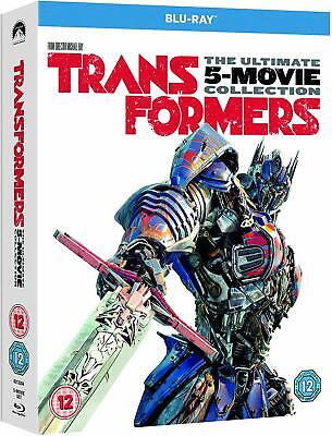 TRANSFORMERS 1-5 (2007-2017) 5x Movie Set Collection w BONUS NEW Eu RgB BLU-RAY