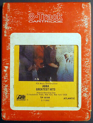 Abba - Greatest Hits (VG) [01-0006] 8-Track Cartridge