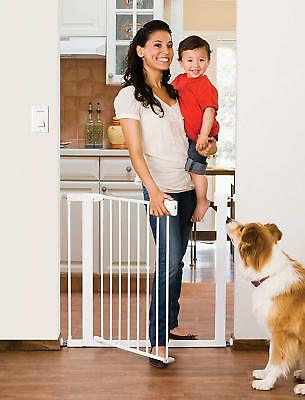 Munchkin Easy Close Metal Baby Gate, White, Model MK0002-012 Dog FASTSHIP