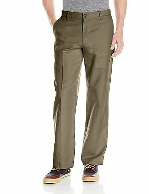 Dockers Men's Size 30 x 32 Pebble Brown D2 Stretch Khaki Straight Fit PantS NEW