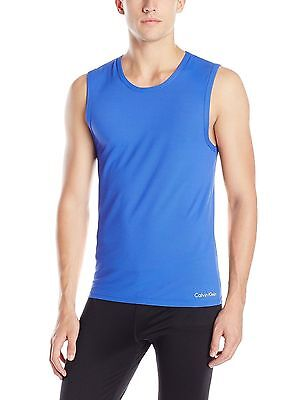 Calvin Klein AIR FX Muscle Tank Top in Cobalt Blue Size:L Ret$34 New/Boxed