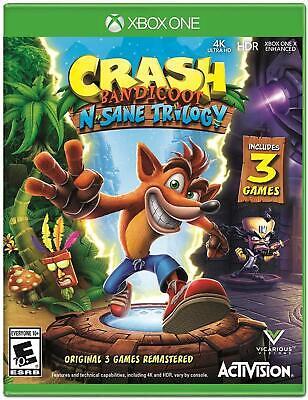 Crash Bandicoot N. Sane Trilogy - Xbox One (XB1) - Brand New Factory Sealed