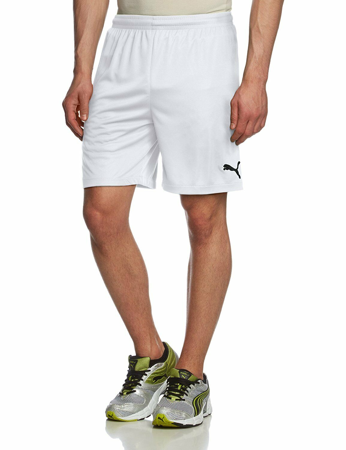 Détails sur Puma Velize Hommes Formation Shorts Sports Gym Football Shorts De Course afficher le titre d'origine