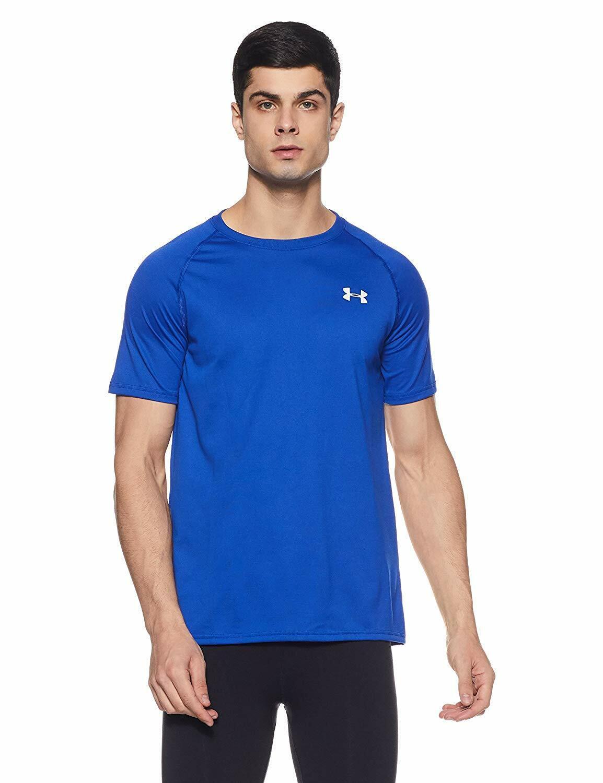 Under Armour 1228539 Men/'s Training UA Tech T-Shirt Short Sleeve Tee Size S 3X