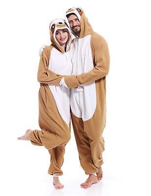 Sloth Kigurumi Adult Animal Pajamas Halloween Xmas Cosplay Costume for Women Men