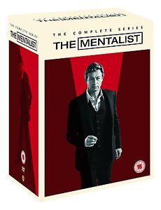 The MENTALIST COMPLETE SERIES SEASONS 1-7 DVD BOXSET 34 DISCS R4 1,2,3,4,5,6,7