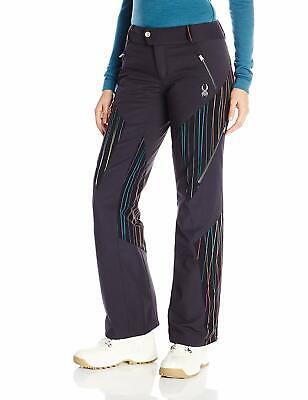 Thrill Athletic Fit Pant (Spyder Womens Thrill Athletic Fit Pants, Size 14, Inseam L,Ski Snowboarding Pant)