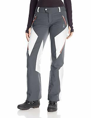 Thrill Athletic Fit Pant (Spyder Womens Thrill Athletic Fit Pants, Size 6, Inseam L, Ski Snowboarding Pant)