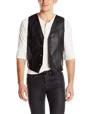 Licensed AMC THE WALKING DEAD Daryl Dixon Faux Leather Vest With Wings S-2XL NEW