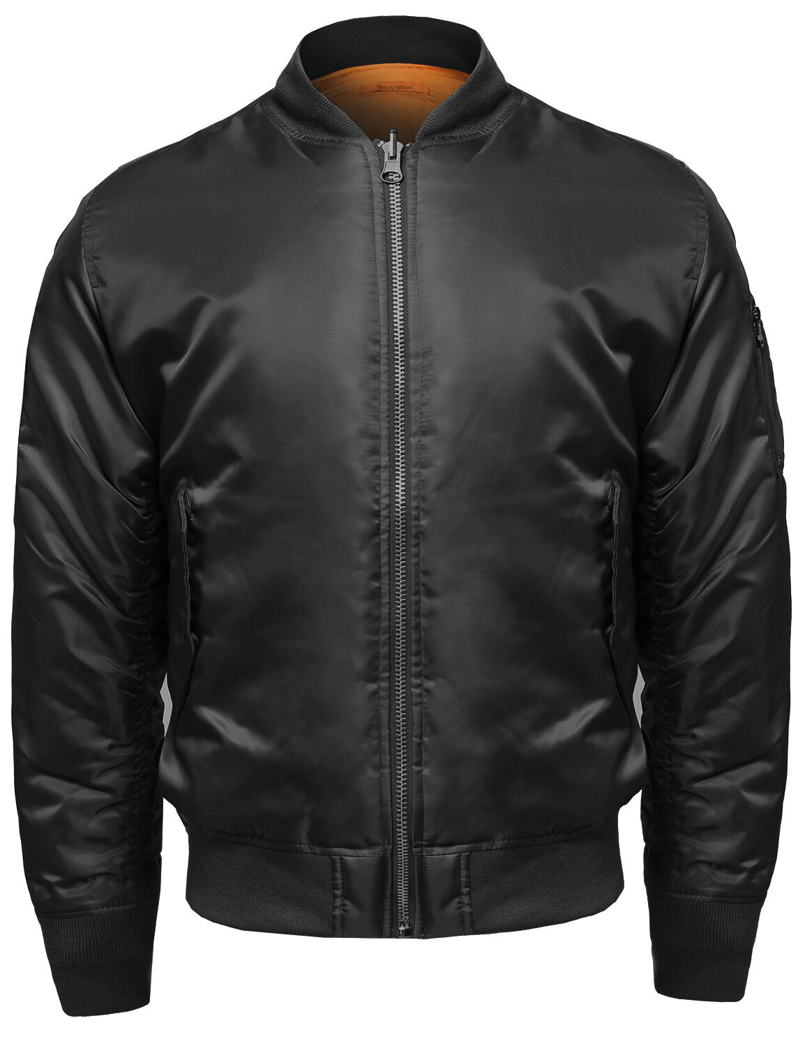 FashionOutfit Men's Classic Basic Air Force Flight Zipper De