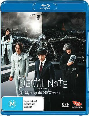 DEATH NOTE - LIGHT UP THE NEW WORLD  -  Blu Ray - Sealed Region