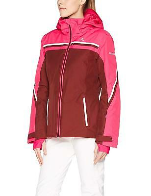 Schoffel AXAMS1 ski snowboard Jacket Pink Andorra Red Womens size uk12 Fr 38 ac224dd88