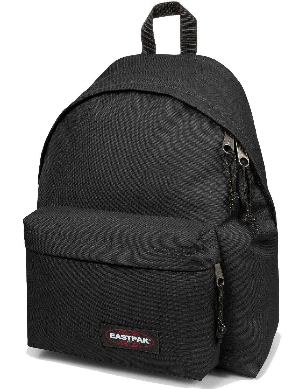 Eastpak Rucksack Schulrucksack Padded Pakr Schwarz / Black City Backpack NEU