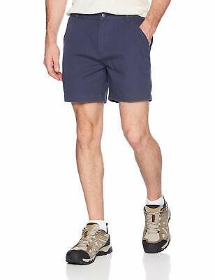 NWT ROYAL ROBBINS Men's Navy Blue Canvas Billy Goat Shorts ~ 34 (Billy Goat Canvas Shorts)