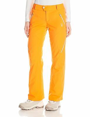Thrill Athletic Fit Pant (Spyder Womens Thrill Athletic Fit Pants, Size 10, Inseam L,Ski Snowboarding Pant)