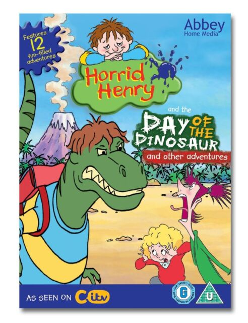 Horrid Henry - Day Of The Dinosaur DOUBLE DVD PACK  Brand new and sealed