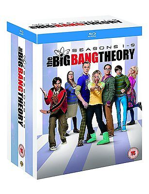 The Big Bang Theory Seasons 1 9  Blu Ray Box Set  Tv Show Collection