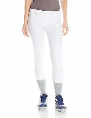 NWT Easton Womens Softball Pro Pants Style A164147 White -
