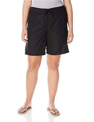 Women s Plus Marina UPF 50 Active Swim Board, Marina Black, Size 1.0 9JNE - $13.99