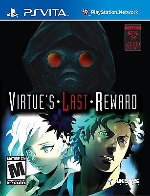 Zero Escape: Virtues Last Reward [Sony PlayStation Vita PSV, Mystery Thriller]