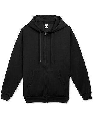 Basic Fleece Zip-Up Hoodie Jacket (11 Colors)