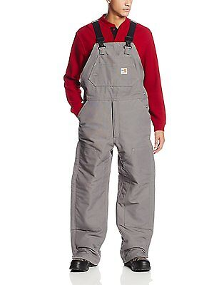 New $265 Big Mens CARHARTT Flame Resistant Duck Bib Overalls Insulated Jumpsuit Flame Resistant Insulated Bib
