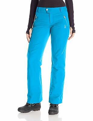 Thrill Athletic Fit Pant (Spyder Womens Thrill Athletic Fit Ski Snowboard Pants, Size 4 Inseam Reg (30.5) )