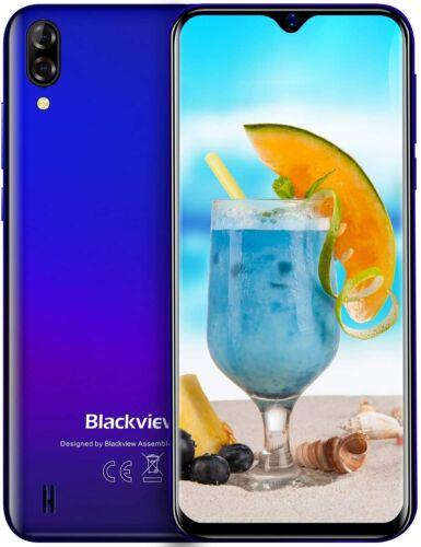 "6,1"" Blackview A60 Smartphone Android 8.1 Quad core 3G Dual SIM GPS Handy Blau"