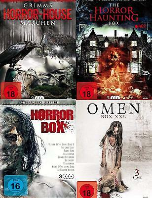 30 HALLOWEEN HORRORFILME Gruselmärchen Horrorhäuser Dämonen Zombies DVD SAMMLUNG