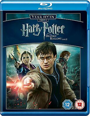 Harry Potter And The Deathly Hallows [Part 2] - Year Seven [2011 2x Blu-Ray+DVD]