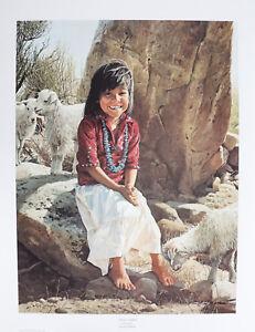 Navajo Sunshine by Ray Swanson 28x22.5