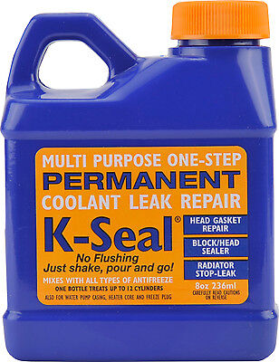 K Seal Radiator Sealer Permanently Cures Coolant Leaks K-Seal Rad Leak Stop Weld