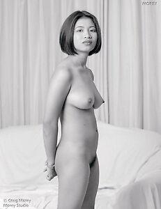 fine art nude thai model signed b w photo by craig morey om 81621 08