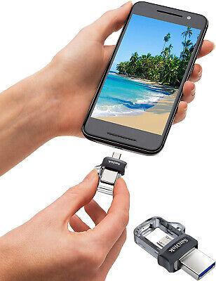Memoria USB 128GB 128 GB USB3.0 SANDISK Pendrive MICRO USB DUAL ENVIO...